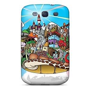 High-quality Durable Protection Case For Galaxy S3(fantasy)
