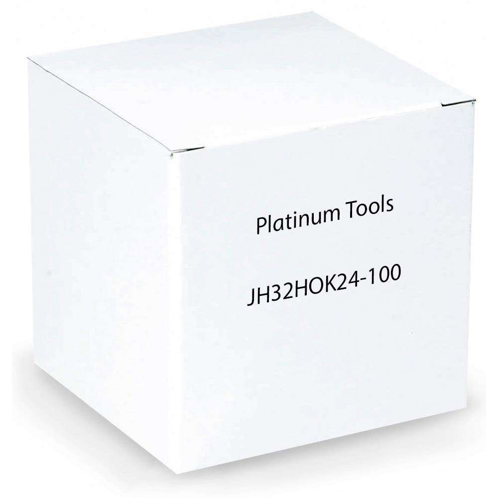 Platinum Tools JH32HOK24-100 2-Inch Hammer-On J-Hook, 1/8-Inch-1/4-Inch Flange, Size 32, 100 Per Box