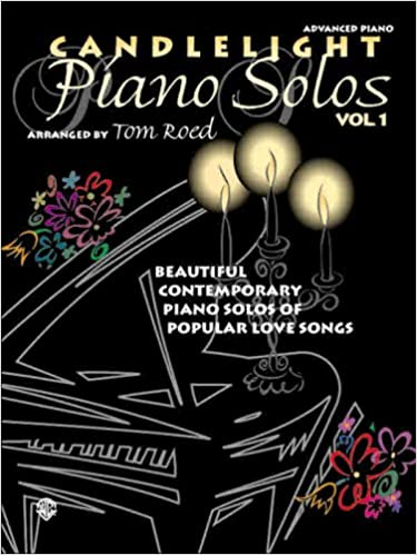 Book Candlelight Piano Solos, Vol 1: Beautiful Contemporary Piano Solos of Popular Love Songs