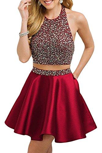 2 Piece Short Dress Cocktail Dress - 8