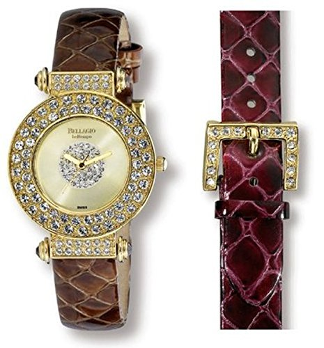 Bellagio Crystal (Bellagio Bellini Set Swarovski Crystals Women's Watch)