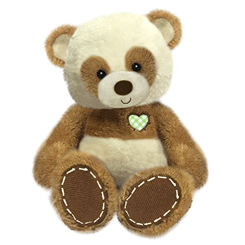 "First & Main 8"" Brown Tender Eddie Panda Bear Basic Plush Toys"