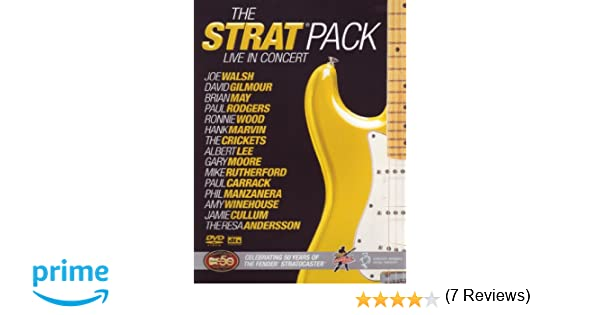 Various Artists - The Strat Pack Live in Concert DVD: Amazon.es: Joe Walsh, Ron Wood, Amy Winehouse, Jamie Cullum, David Gilmour, Brian May: Cine y Series ...