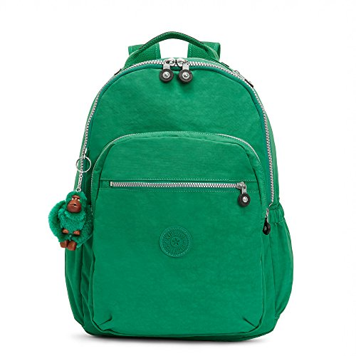 Kipling Women's Seoul Go Large Laptop Backpack One Size Crocodile Green