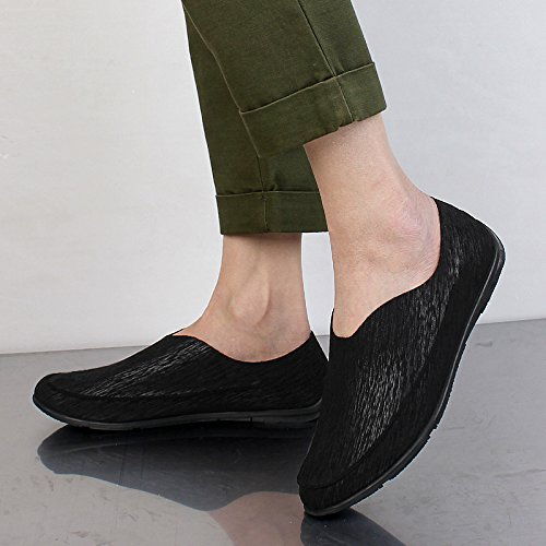 Élégant Chaussures La Nouveaux Mocassins 902 Qyy Conduite Hommes Sur Glissement Occasionnels Salabobo Noir wSAqOBTf1x