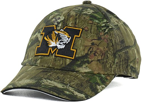 (Missouri Tigers Mossy Oak Break Up Infinity Camo Adjustable Strapback Cap Hat (One Size, Camo))