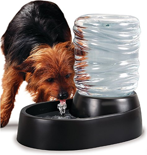 - Imperial Home Pet Water Fountain, 62 Oz Hygienic Fresh Clean Pet Waterer For Dogs & Cats