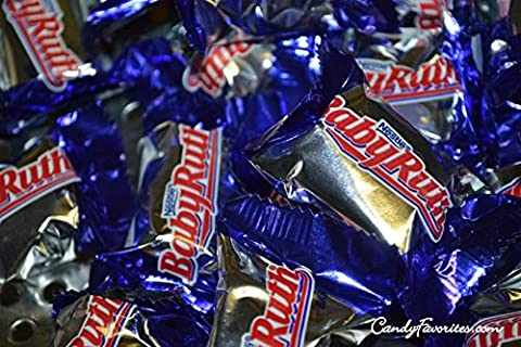 Baby Ruth Bite Size Candy Bars - 3 lb. (Bite Size Baby Ruth)
