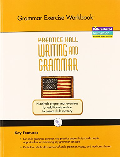 WRITING AND GRAMMAR EXERCISE WORKBOOK 2008 GR11