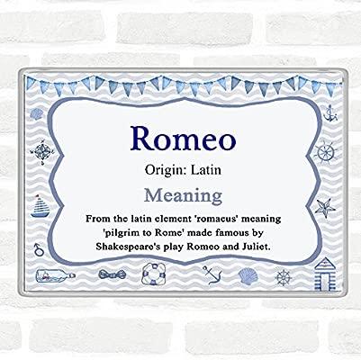 Imán para nevera Romeo con el nombre y significado de Jumbo ...
