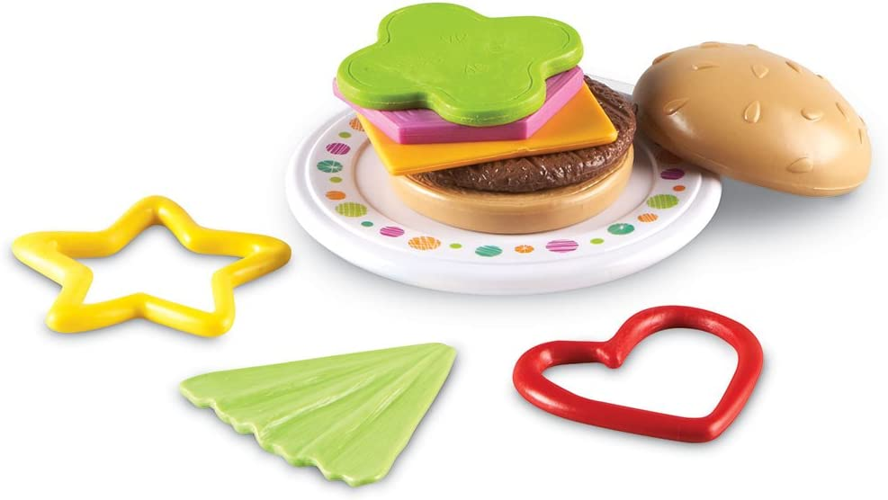 Learning Resources Burger Shapes,Multi-color,5
