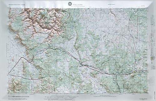 3d Map Of Arizona.Williams Arizona Raised Relief Map Ni 12 01 Hubbard Amazon Com Books