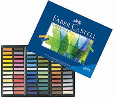 Faber Castell Set of 72 Half Stick Pastels