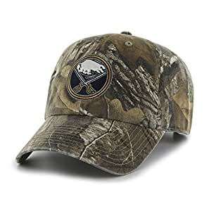 NHL Buffalo Sabres Realtree Clean Up Adjustable Hat, One Size, Realtree Camo