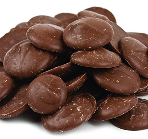 Chocolate Flavored Wafers (Merckens Cocoa Lite Coating Wafers Bulk 50 lbs.)