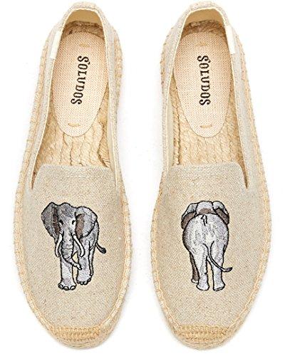 Sand Womens Smoking Elephant Slipper Soludos dwI4T