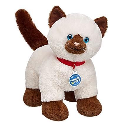 b3d45b26ec3 Amazon.com  Build-a-Bear Workshop 15 in. Promise Pets Siamese Kitty ...