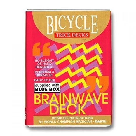 Amazon Bicycle Brainwave Playing Cards Magic Trick Blue Back