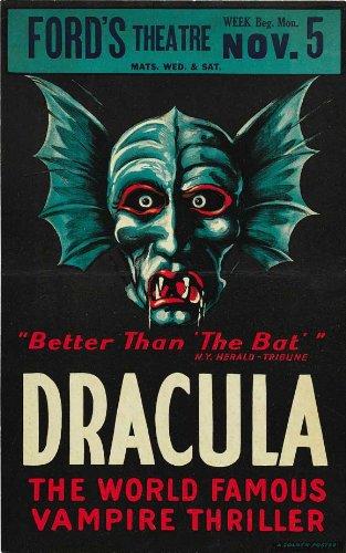Dracula Poster Movie K Bela Lugosi David Manners Dwight Frye Helen Chandler
