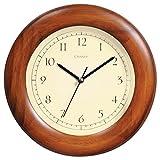 Chaney 75171 Poplar Wood Wall Clock, 8