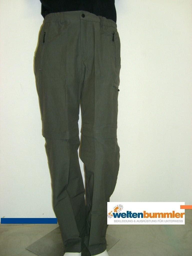 Hot-sportswear Trekking Zip-Hose Herren Berlin khaki Freizeithose