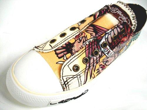332b0b7240 New Ed Hardy Men s Low Cut Shoes Sneakers - Eagle - Born Free Ivory -  18LR312M - Buy Online in UAE.