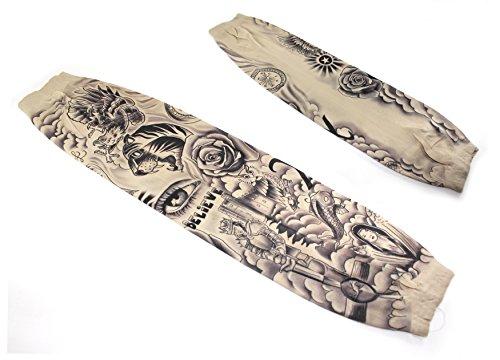 Justin bieber inspired tattoo sleeves buy online in uae for Justin bieber fake tattoo sleeve