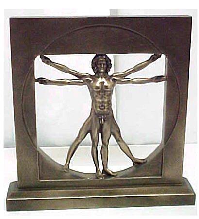 Man Bronze Statue - 7