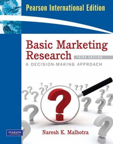 Download Basic Marketing Research by Naresh K. Malhotra (2008-10-15) pdf epub