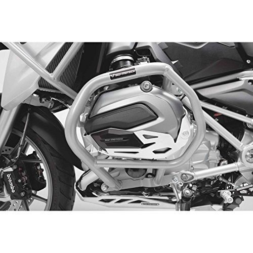 Lower Engine Guard - SW-MOTECH Lower Crash Bars Engine Guards for BMW R1200GS LC '13-'18 | Silver