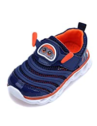 Kids Breathable Running Shoes Lightweight Walking Shoes Fashion Sneakers