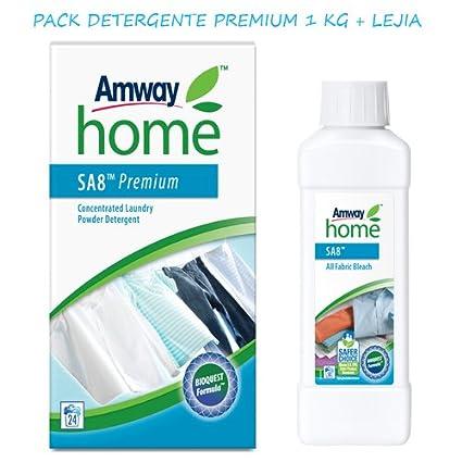 Pack biodegradable Detergente Premium 1 KG + Blanqueador 1/2 KG - Una combinación exclusiva