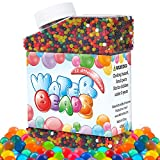 Toys : Intersone Water Beads Pack 12 Color Rainbow Mix Soft Crystal, for Kids Tactile Sensory Toy, Vases, Plants & Home Decoration, Jelly Growing Pearl Balls, Great for Wedding, Party, Pool, Guns
