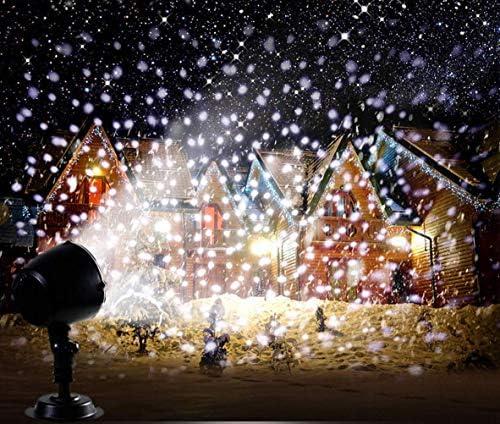 Magike lámpara proyección Exterior película Lamp Color Blanco ...