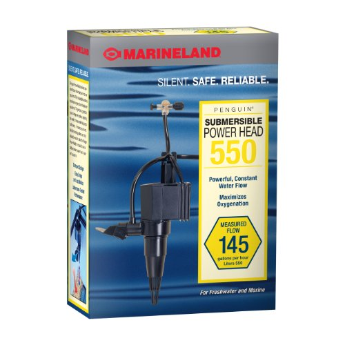 (MarineLand Penguin Submersible Power Head Pump for Aquariums)
