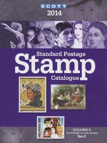 Scott Standard Postage Stamp Catalogue, Volume 6: Countries of the World San-Z (Scott Standard Postage Stamp Catalogue: Vol.6: Countries Solomon ... Stamp Catalogue Vol 6 Countries San-Z)