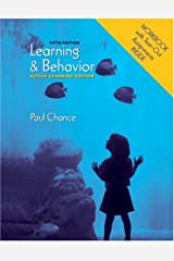 Learning and Behavior: Active Learning Edition (with Workbook) Paperback
