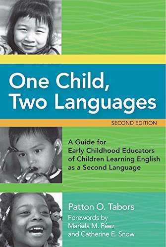 One Child, Two Languages by Tabors Ed.D., Patton Published by Brookes Publishing 2nd (second) edition (2008) Paperback