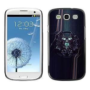 GagaDesign Phone Accessories: Hard Case Cover for Samsung Galaxy S4 - Sci Fi Crest