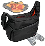 DURAGADGET Rugged 'Country Dweller' Shoulder Sling Carry Bag for Olympus 8×40 DPSI Binocular, Olympus 10×50 DPS 1 Binocular & Olympus 8-16×40 Zoom DPS I Binocular