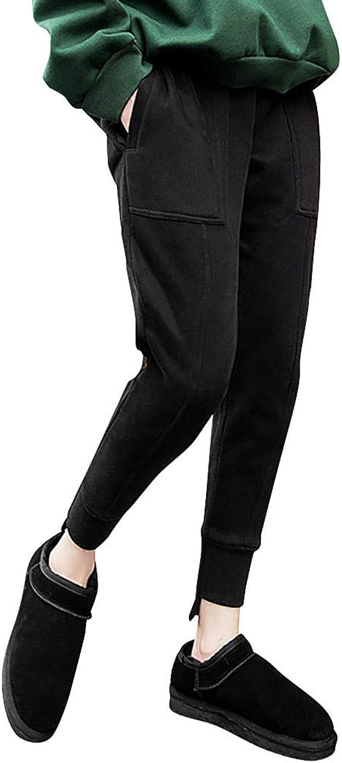 beautyjourney Pantalones de Chándal Casuales para Mujer Pantalones ...