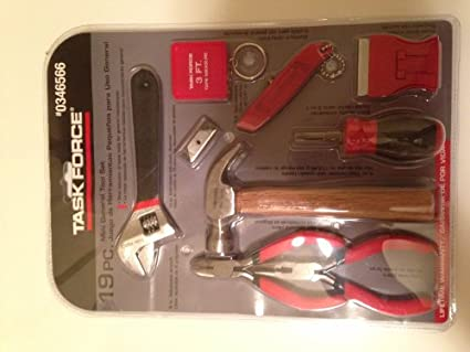 19 Pc. Mini General Tool Set: Wire Cutters: Amazon.com: Industrial ...