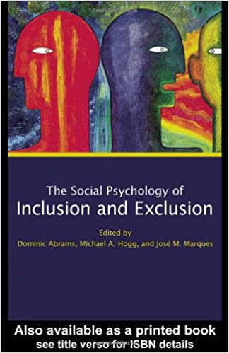 Book Social Psychology of Inclusion and Exclusion