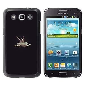 Caucho caso de Shell duro de la cubierta de accesorios de protección BY RAYDREAMMM - Samsung Galaxy Win I8550 I8552 Grand Quattro - Vignette Beautiful