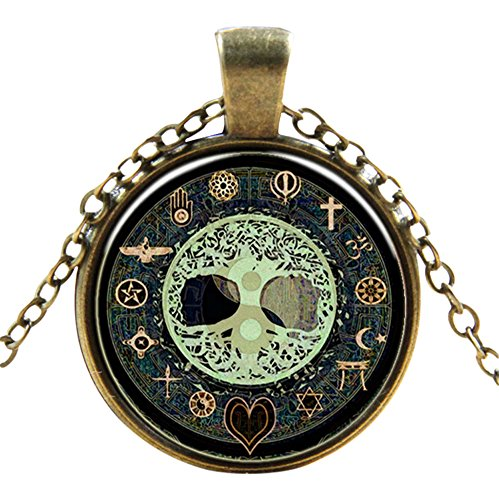 Mystical Symbol Style Classic Unisex Steampunk Necklaces in 27 Great Styles Unisex Gothic Goth Necklace Emo Vintage Cyber Men Women Jewellery Cosplay Skulls Cogs Designs Steampunk