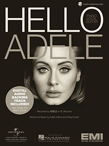 Adele - Hello - Piano/Vocal/Guitar Sheet Music Single w/Digi