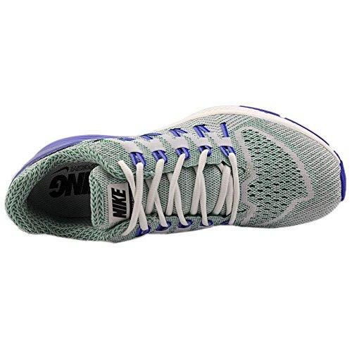 Nike Wmns Air Zoom Odyssey, Zapatillas de Running para Mujer Blanco (Sail / Black-Lucid Green-Chlk Bl)