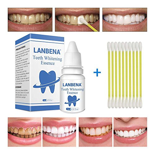 Teeth Whitening Water,Remove Tea Stain, Coffee Stain,All kinds of teeth stains,Plaque Stains Peppermint Taste Teeth Whitening Essence Fluid