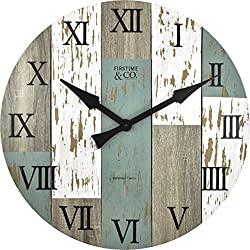 FirsTime Timberworks Wall Clock