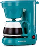 Holstein Houswares HH-0914701E 5 Cup Coffee Maker - Teal